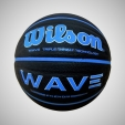Míč basketbal Wilson WAVE PHENOM BLACK/BLUE WTB0854XB7