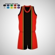 Dres basket Chicago komplet
